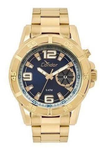 Relógio Masculino Condor Dourado Co2317aa/4a