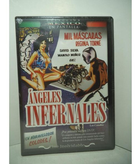 Mil Mascaras Angeles Infernales Dvd Lucha Libre