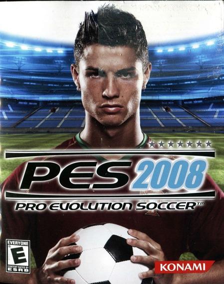 Somente Manual Original Em Portugues Pes 2008 Pro Evolution