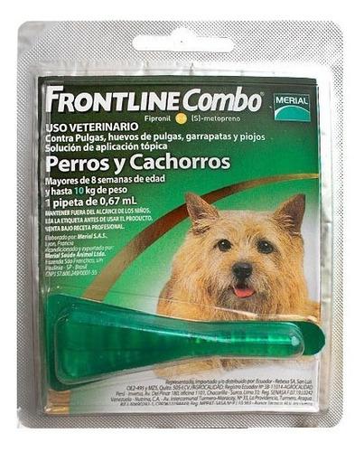 Frontline Combo Pipeta Para Perros Pequeños De 0 A 10kg