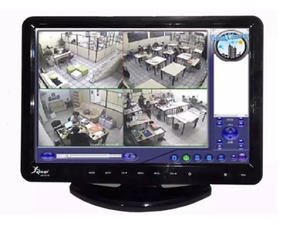 Tv Monitor 15,4 Pol Lcd Hd 1080p C/ Dvd Player Hdmi Vga Usb