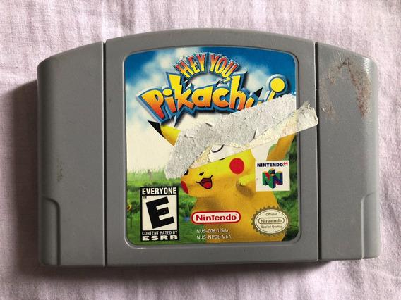 Hey You Pikachu! Nintendo 64 Original Americano