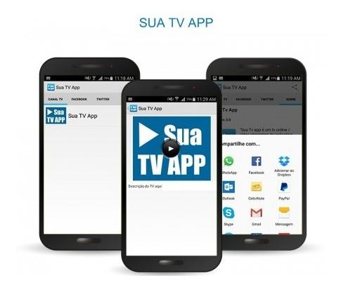 Aplicativo Para Tv Ou Web Tv Stream - Android - Codigo Fonte