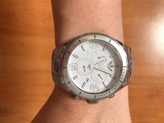 Relógio adidas Prata/transparente
