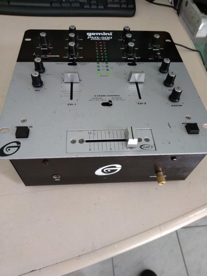 Mixer Amplificador Gemini Pmx 500 Estero Microfone