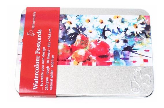 Papel Para Aquarela Importada Hahnemuhle - Cartão Postal