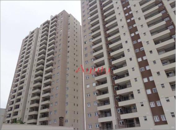 Apartamento Com 2 Dormitórios À Venda, 64 M² Por R$ 440.000 - Vila Curuçá - Santo André/sp - Ap1887