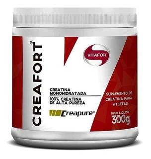 Creafort 300g Creatina Com Selo Creapure - Vitafor