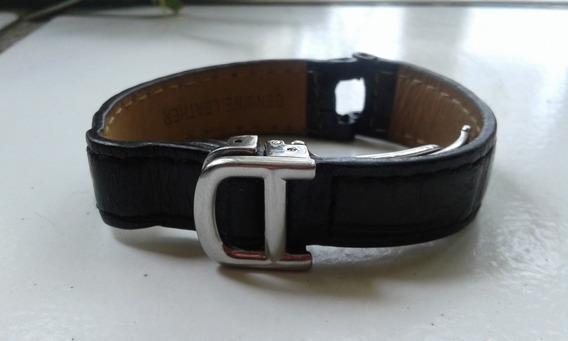 Extensible Para Reloj Cartier Pasha, Piel Cocodrilo, Usado