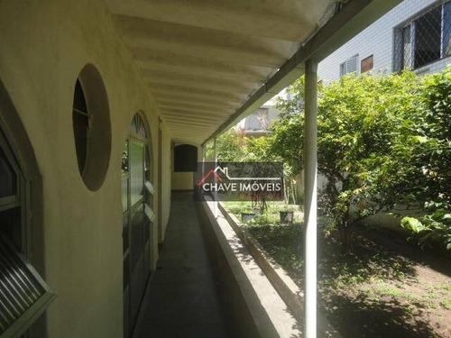 Imagem 1 de 30 de Casa Para Alugar, 840 M² Por R$ 15.010,00/mês - Gonzaga - Santos/sp - Ca0155