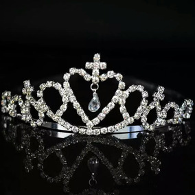 Tiara Princesa Coroa Festas Casamento Com Strass