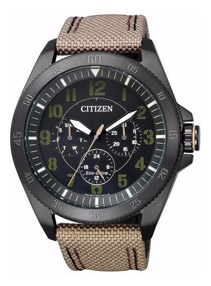 Relógio Citizen Masculino Eco-drive Tz30875p Bu2035-05e Pret