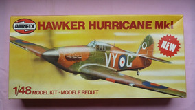 Hurricane Mk I Maquete Aviao Plastimodelismo 1/48