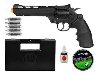 Revólverpressão Crosman Vigilante 4.5mm + Acessórios + Capa