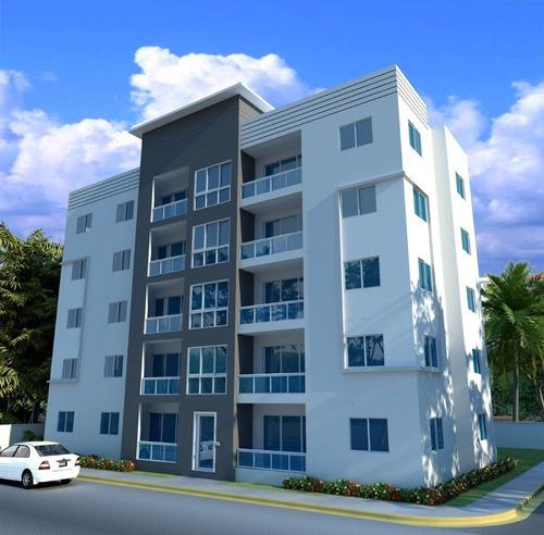 Imagen 1 de 6 de Hermoso Proyecto De Apartamentos En La Jacobo Majluta