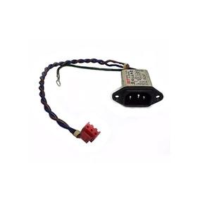 Plugue Conector Ac Power Tv E Monitor 250v - Novo