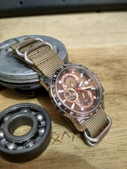 Relógio Technos Original Masculino Js15.ab + 2x Nato Strap