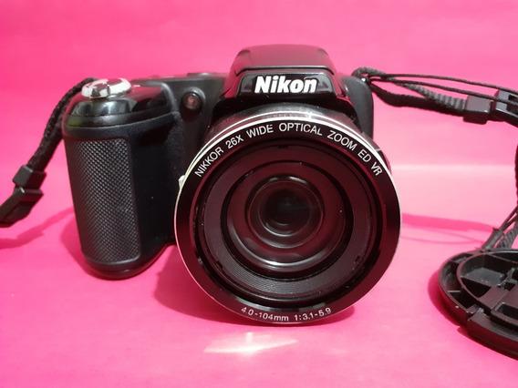 Câmera Nikon Coolpix L810 Preto