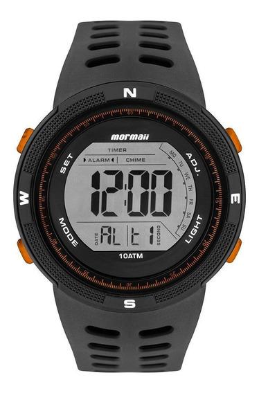 Relógio Masculino Mormaii Wave Preto Mo3590ab/8l Promoção