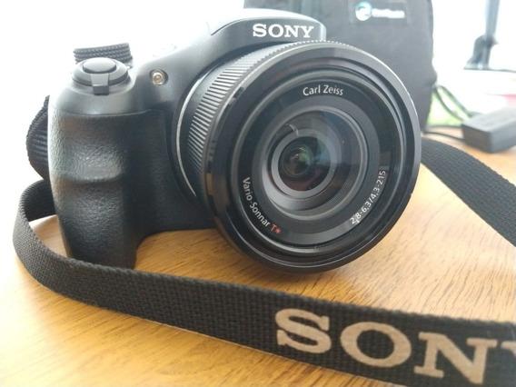 Câmera Sony Cyber-shot Superzoom Dsc-hx300