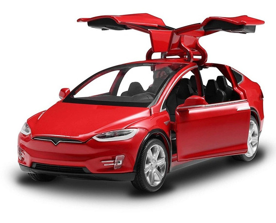Diecast Juguete 1 : 32 Escala Aleación Coches Para Tesla Ju