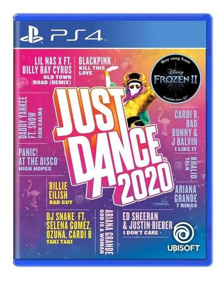 Just Dance 2020 Ps4 Mídia Física Pronta Entrega