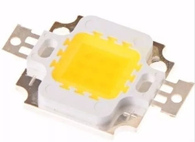 Kit Com 200 Unid. Mega Led Chip 10w 12v 1000 Lm Branco Frio