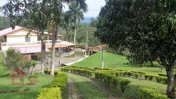 Chácara Com 4 Dormitórios À Venda, 18300 M² Por R$ 580.000,00 - Fazenda Vitoria - São Lourenço Da Serra/sp - Ch0075