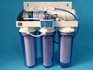 Filtro Osmose Reversa 100gpd + Bomba + Tds In-line Transpare