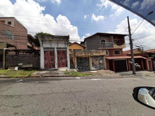 Terreno À Venda, 300 M² Por R$ 400.000,00 - Jardim Ana Maria - Santo André/sp - Te1001