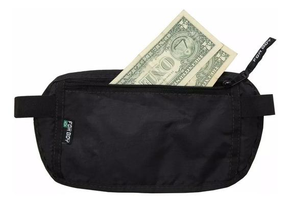Pochete Doleira Porta Dinheiro Viagem Documento Escondido