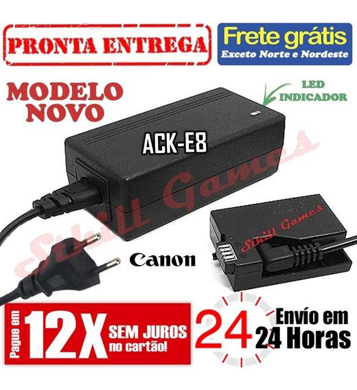 Fonte Ack-e8 Adaptador Ac Para Canon T2i T3i T4i T5i 650d...