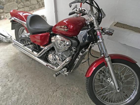 Honda Shadow Vlx 600, Año 2002, Como Nueva, Matricula Al Día