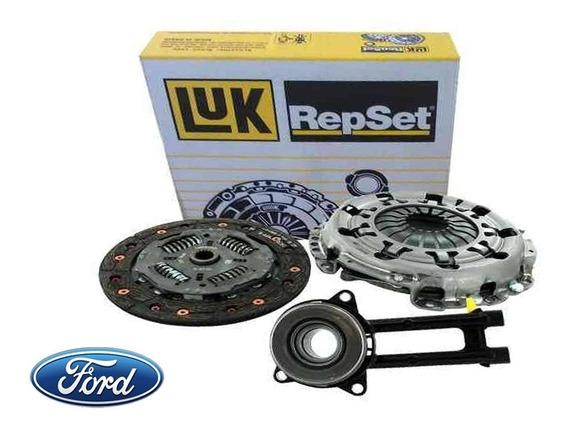 Kit Embreagem + Atuador Original Luk - Ford Fiesta / Ecosport / Ka / Focus - Motores 1.0 1.6 8v Zetec Rocam E Endura