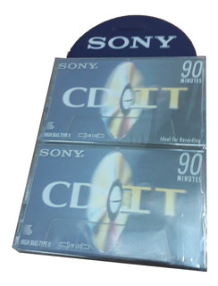 Cassette Sony 20 Unidades Cd It