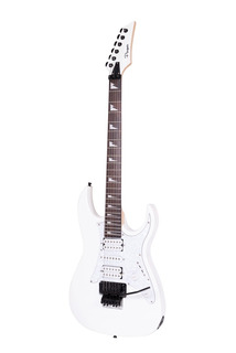 Guitarra Eléctrica Parquer Tip Ibanez Steve Vai Blanca Cuota
