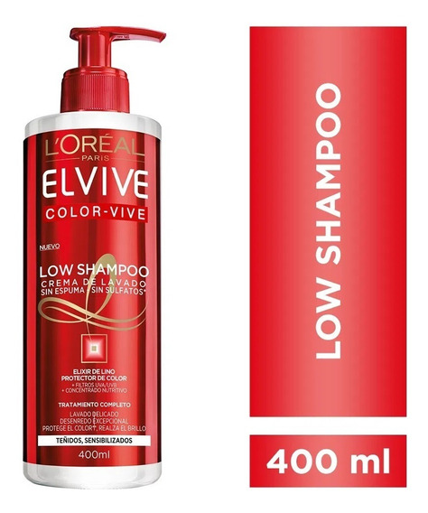 Loreal Elvive Shampoo Low 400 Ml Todas Las Variantes