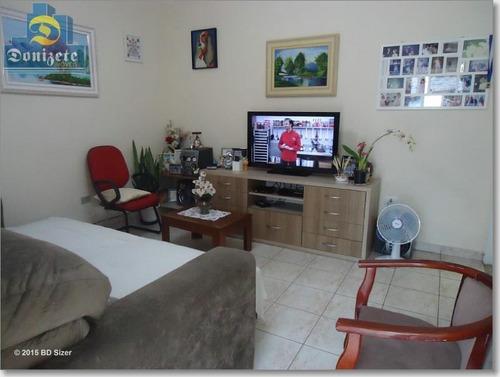 Casa Com 2 Dormitórios À Venda, 167 M² Por R$ 445.000,00 - Jardim Do Estádio - Santo André/sp - Ca0454