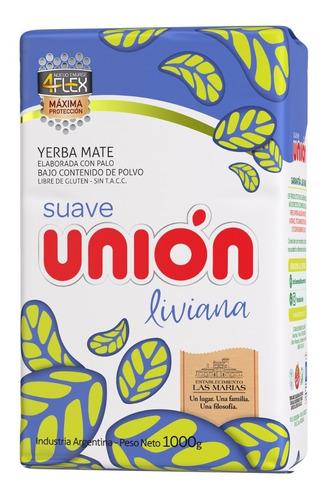 Yerba Mate Unión Liviana 4flex 1kg