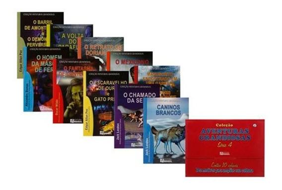 Box Coleção Aventuras Grandiosas 10 Volumes Série 4