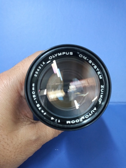 Lente Olympus Zuiko 75-150mm Em Bom Estado