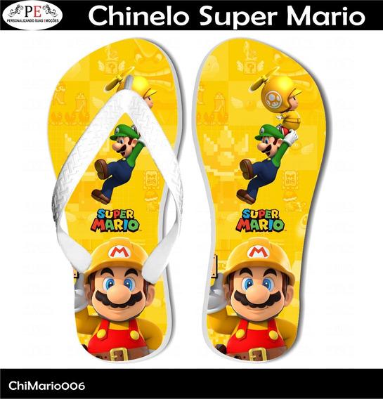 Chinelo Super Mario 6