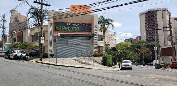Salão Para Alugar, 591 M² Por R$ 25.000/mês - Cambuí - Campinas/sp - Sl0811