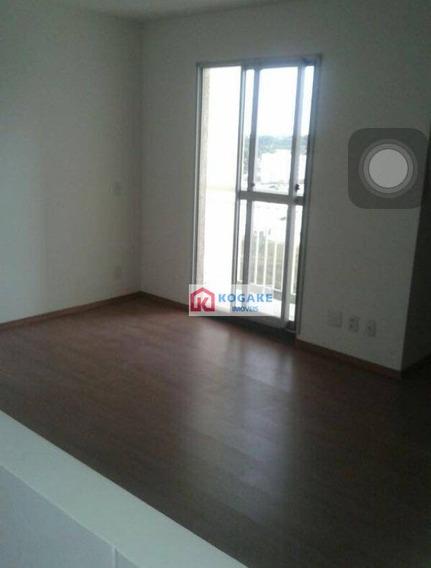 Apartamento Com 2 Dormitórios À Venda, 59 M² Por R$ 220.000,00 - Parque Residencial Flamboyant - São José Dos Campos/sp - Ap6892