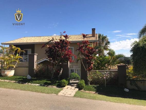 Linda Casa À Venda No Condomínio Parque Da Fazenda Em Itatiba Com 4 Dormitórios - Ca1304