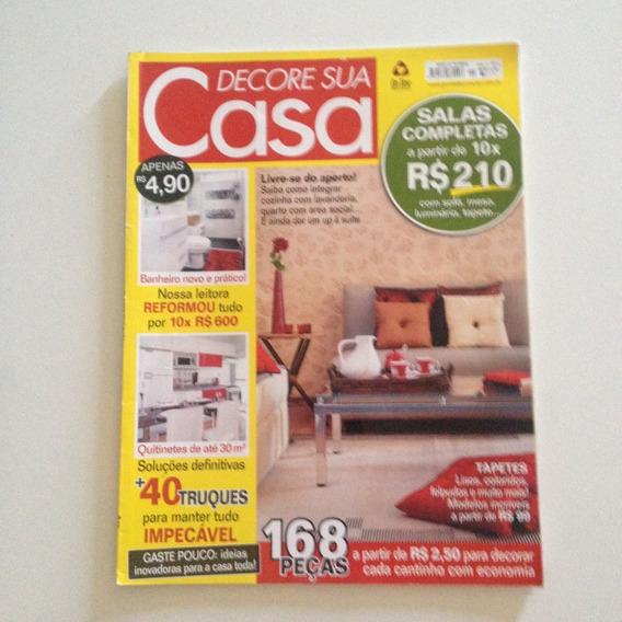 Revista Decore Sua Casa N1 Salas Completas Quitinetes C2