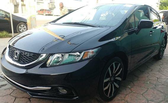 Honda Civic 2015 Ex Full Sunroof Pana Importado Americano