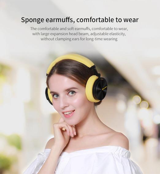 Fone De Ouvido Bluetooth 5.0 Amarelo Frete Gratis