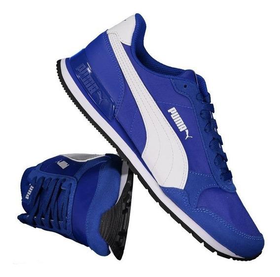 Tênis Puma St Runner V2 Nl Azul