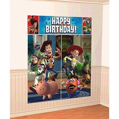 Decoraciones De Pared De Toy Story 3 Por American Greetings.